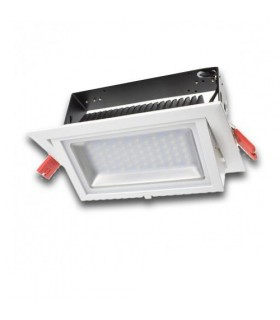 DOWNLIGHT 60w LED ORIENTABLE 6400 LUMENS ALTA POTÉNCIA