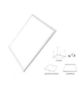 Panel Led-T - 60x60 cm - 48W - 4800 lumenes