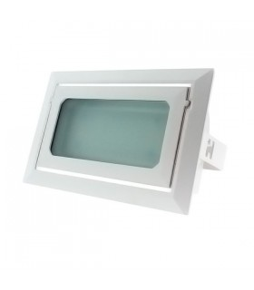 Downlight LED rectangular - 40w - 4.400 lumenes