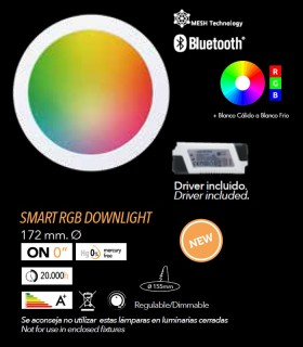 Downlight LED 12w SMART MULTITONO RGB