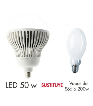 Bombilla LED E27 50W Industrial