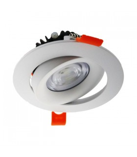 DOWNLIGHT 7w LED ORIENTABLE CopMon